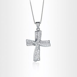 Jewelry - 🔷Mix&Match SALES 925 Silver Cross Necklace